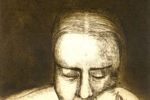MATERNIDADE. Grabado (Aguafuerte, 24,5 x 16 cm). 1996