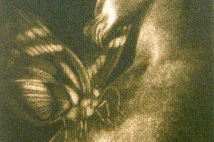 EL SUEÑO DE AFRODITA. Grabado (Mezotinta 19 x 13 cm). 1998