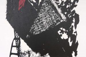 O SOÑO DA ESCADA. Serigrafía, 51 x 32 cm. 1991