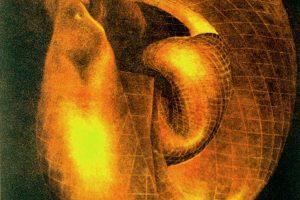 O MENCER DE DAGHA. Grabado (Mezzotinta 34 x 25 cm). 1999