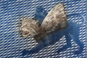 QUIMERA. Grabado (Mezzotinta 25 x 33,5 cm). 2000
