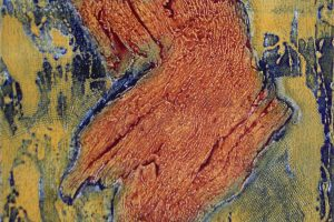 FIGURA. Grabado (Xilocolografía, 16,5 x 25 cm).