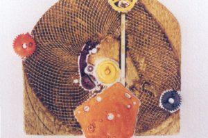 MACHINE II. Grabado (Xilocolografía 11 x 11 cm). 2002