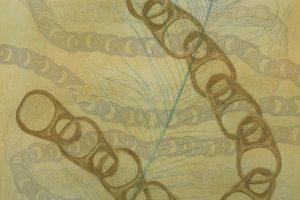 VIENTOS DE LIBERTAD. Grabado (Aguafuerte, aguatinta y barniz blando, 50 x 35 cm). 2003