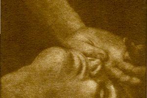 SUEÑOS. Grabado (Mezzotinta 10 x 10 cm). 2003