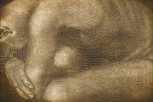 LABERINTO. Grabado (Mezzotinta y Colografía 35 x 50 cm). 2004