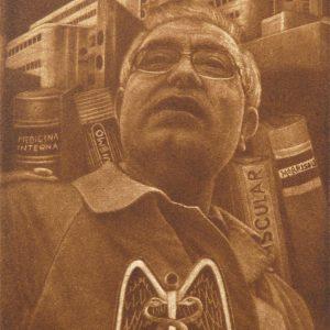 Exlibris Julio Montes, 2013. C7