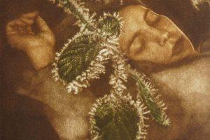ANOCHE CUANDO DORMÍA. Grabado (Mezzotinta 16,5 x 15 cm). 2010