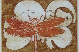 METAMORFOSIS. Grabado (Aguafuerte y Aguatinta 7 x 5 cm). 1998