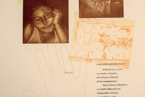 MI REFUGIO. Grabado, transferencia y cosido manual con hilo de cobre. 2005