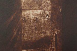 SOLPOR EN TUI III. Grabado (Aguatinta Bruñida 33,5 x 25 cm). 2001