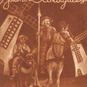 Exlibris Yolanda Carbajales, 2016. C7